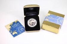 2008 PM $1 Silver Proof 1oz The First Fleet Captain Phillip Coin Box & COA