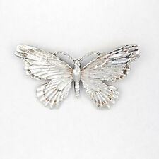 Butterfly Silver Plated Costume Brooches & Pins