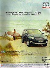 Publicité advertising 2010 Toyota Rav 4