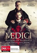 Medici - Masters Of Florence : Season 1 (DVD, 2017, 3-Disc Set) RRP $49.95