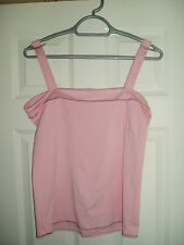 Ladies Adidas Light Pink Size UK 14 Strap Vest/Top FREE P&P