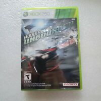 Ridge Racer Unbounded (Microsoft Xbox 360, 2012) New Factory Sealed