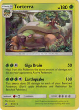 2x Pokemon SM - Ultra Prism Torterra 9/156 Holo Rare Card NM