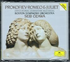 Seiji OZAWA: PROKOFIEV Romeo and Juliet Complete Ballet 2CD NEU Prokofjew 小澤征爾