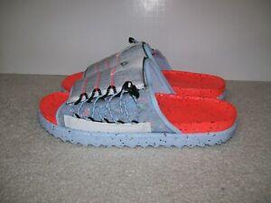 RARE SZ 14 Nike Asuna Slide Space Hippie Total Crimson DH0151-800 Jordan 1 5