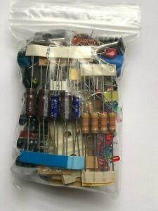 GRAB Bag Electronic Components Mixed lot - Caps Resistors Semiconductors ALL NEW
