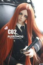 1 3 8-9 Bjd Wig Dal Pullip BJD SD LUTS DZ DOC DOD Dollfie Doll wigs red tt39