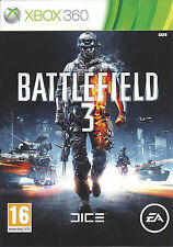 BATTLEFIELD 3 for Xbox 360 - with box &manual - PAL