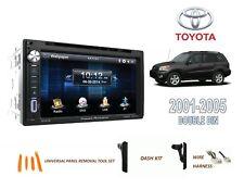 2001-2005 TOYOTA RAV4 CAR STEREO KIT, BLUETOOTH TOUCHSCREEN DVD USB