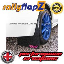 Mudflaps SUBARU IMPREZA Hatch 08-14 rallyflapZ 4mm PVC Black STi style Pink sml