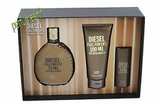 Diesel Fuel For Life By Diesel 3Pces Gift Set 2.5oz.Edt Spray For Men New In Box