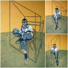 Francis Bacon, Triptych-Three Studies of Lucian Freud 1969, Hand Signed 95/100
