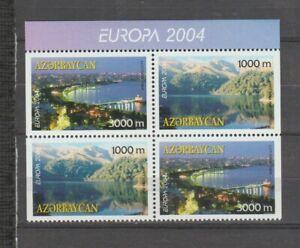 s36073 AZERBAIJAN 2004 EUROPA CEPT MNH** 4v HOLIDAYS