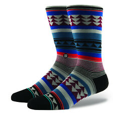 STANCE MENS SOCKS.CREEK 200 NEEDLE PREMIUM ARCH SUPPORT SIZE LARGE UK 8.5 - 11.5