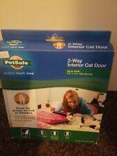PetSafe Cat Door, 2-Way Lockable, For Interior Doors, Free Shipping