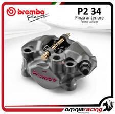 étrier radiaux Moto3 Brembo monoblocs CNC P2 34 emp 60mm DX pistons titane
