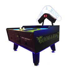 Great American Boom A Rang Air Hockey with LEDs & Marquee
