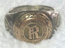 1944 Class Ring - Robinson, Ill. - Herff Jones - free shipping