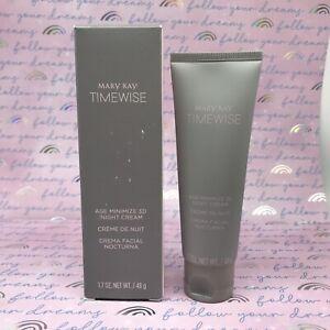 Mary Kay Timewise Age Minimize 3D Night Cream. Combination To Oily Skin. NIB