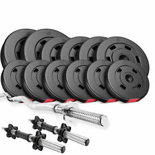 Premium composite Load Set 36kg Curl Bar Dumbbell Barbell  , Gym Barbells Pro