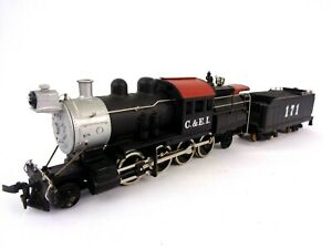 Mantua HO Gauge Locomotive US Steam Chicago & Eastern Illinois 171 Working Rare