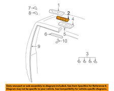 GM OEM High Mount Lamps-Rear Lamps-Housing 16522434