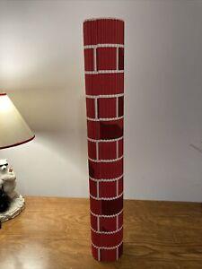 Red Brick Corrugated Paper 10' Square Roll COROBUFF NOS