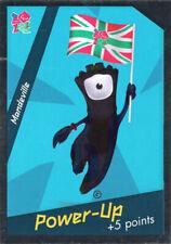 PANINI ADRENALYN XL LONDON 2012 CARDS MANDEVILLE MASCOT CARD  #347 OLYMPICS