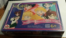 Sailor Moon 100 Pieces Puzzle 1996 Canada Games Co. Sealed Manga Anime Puzzle AA