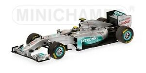 Mercedes Gp Nico Rosberg Showcar 2011 1:43 Modelo Minichamps