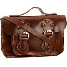 Fly London Annie, Women's Satchel, Camel Brown, Crossbody Leather Handbag