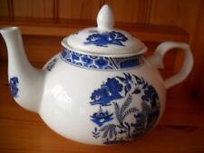 Blue Ceramic Staffordshire Pottery