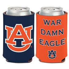 Auburn University WAR DAMN EAGLE Can Cooler 12 oz. Koozie
