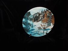 """""""Trail of the Talismans"""" Collectors Plate by Julie Kramer Cole - Mint Condition!"""