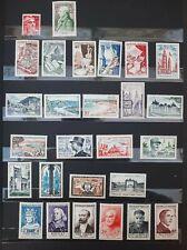 France Année Complète 1954 40 Timbres Neufs **