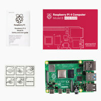 Raspberry Pi 4 Model B 1GB 2GB 4GB RAM WIFI Bluetooth 64-bit 1.5GHz Quad core