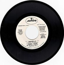 "DANIEL BOONE>""ANNABELLE""/""SLEEPYHEAD"">PROMO 7"" VINYL 45 RECORD>STEREO>EX>1972"