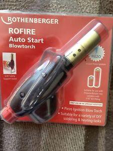 Rothenberger ROFIRE Auto Start Blowtorch 35557 - BRAND NEW