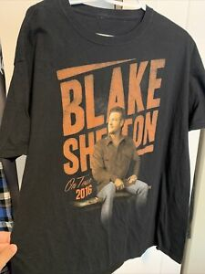 Blake Shelton 2016 Tour Men's T Shirt XXL