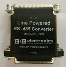 B & B Electronics RS-232 to RS-485 Converter Model 485LPCOR NEW