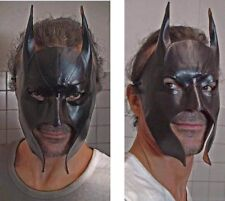 Batman Maschera In Cuoio Handmade In Italy