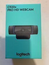 Logitech C920x Pro HD Webcam 1080p New In Hand
