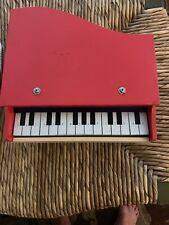 VINTAGE Made In Japan Toy Piano Red Great For Display
