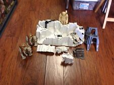 Vintage Star Wars Hoth Imperial Attack Base Playset Parts & Figures Kenner 1981
