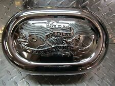 1996-2003 HARLEY DAVIDSON SPORTSTER 883 1200 EVO OVAL AIR CLEANER LIVE TO RIDE