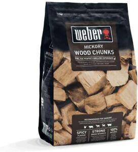 Weber Smoking Wood Chunks, Hickory