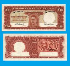 Australia 10 Pounds 1952. UNC - Reproduction