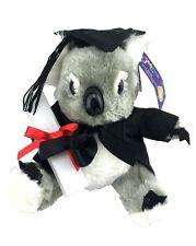 8'' Sitting Graduation Koala Bear Plush Soft Toy Australian Animal Graduat. Gift