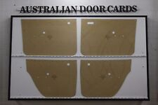 Holden HT Brougham Electric Window Door Cards, Blank Trim Panels. Support Chrome
