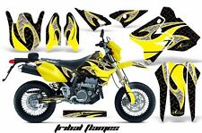 AMR Racing Suzuki Graphic Kit Bike Decal DRZ 400 SM Decal MX Part 00-15 TRIBAL Y